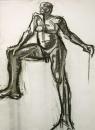 34‐2295<b></b>charcoal75.5 x 56 cms‐GregPoole