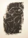34‐2327<b></b>woodcut70 x 50 cms&#8208;Greg&nbsp;Poole