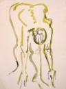 34‐2281<b></b>acrylic53 x 39.5 cms‐GregPoole