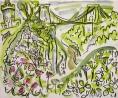 25‐4492<b>avon gorge flora</b>36 X 43 cmsSOLD‐GregPoole