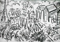 25‐4740 <b>bristol allotments 2</b>   54 x 30 cms £130&#8208;Greg&nbsp;Poole