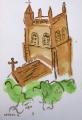 25‐4496<b>mendip church</b>A4 (29.7 x 21cms)£90‐GregPoole