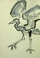 139‐4325<b>heron landing</b>A3 (42 x 29.7 cms)£150‐GregPoole
