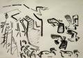 139‐4332<b>heron & lapwings</b>A3 (29.7 x 42 cms)£80‐GregPoole