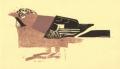 <b>jay</b>   woodcut  15 x 35 cms ‐GregPoole