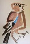 21‐4367<b>jay</b>gouacheA5 (21 x 14.5 cms)£POA‐GregPoole