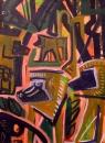 110‐5964<b>baboons</b>Kibale forest, Uganda76 x 57 cms£250‐GregPoole
