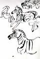 110‐6018<b>zebra</b>Etosha, Namibia56 x 38 cms£220‐GregPoole
