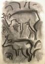 189‐4715<b>roe deer</b>A2 (59.4 x 42 cms)£120&#8208;Greg&nbsp;Poole