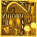 189‐3543 <b>hare, horsetail, dandelions</b>   38 x 38 cms EDITION SOLD OUT‐Greg Poole