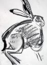 110‐4698<b>hare</b>A3 (42 x 29.7 cms)£50&#8208;Greg&nbsp;Poole