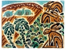 189‐3548 <b>hares, partridges  & sprouts</b>   49 x 61 cms £150‐Greg Poole