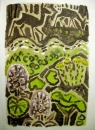 189‐3699<b>roe deer, coltsfoot & butterbur</b>53 x 38 cms&#8208;Greg&nbsp;Poole