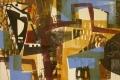 91‐5611<b>great-spotted woodpecker in oak 1</b>36 x 53 cms£180‐GregPoole