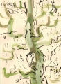 91‐4479<b>green woodpecker</b>38 x 28cms‐GregPoole