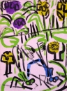 76‐4150 <b>courting damsels 3</b>   38 x 28 cms £80‐Greg Poole