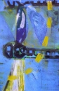 76‐3679 <b>dragonfly monoprint 10</b>   38 x 28 cms £120‐Greg Poole