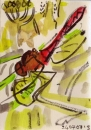 76‐4188 <b>ruddy darter</b>   A5 (21 x 14.5 cms) £40‐Greg Poole