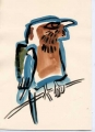 150‐4423 <b>indian roller</b>   A4 (29.7 x 21cms) £50&#8208;Greg&nbsp;Poole