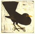 158‐6151<b>blackbird</b>monotype22 x 22 cms£80&#8208;Greg&nbsp;Poole