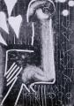 83‐5258<b>prince ruspoli's turaco</b>c. A4 (29.7 x 21cms)£70&#8208;Greg&nbsp;Poole