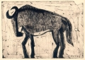 110‐6013 <b>wildebeest</b>  monotype  &#8208;Greg&nbsp;Poole