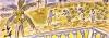 <b>barbados plantation</b>    gouache  21 x 59.4 cms  £110‐GregPoole