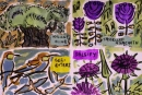 224‐7147<b>crete motifs</b>cretegouache & charcoal21 x 29.7cms (A4)£90&#8208;Greg&nbsp;Poole