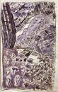 43‐1593<b>silkscreen print & watercolour</b>screenprint&#8208;Greg&nbsp;Poole