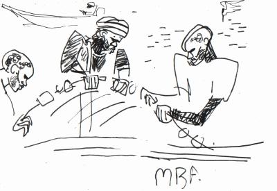 fishermen & tern