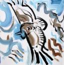 160‐7205<b>griffon vultures -  picos</b>picos de europa, spain38 x 38 cms£120‐GregPoole