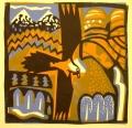 1‐5004<b>lammergeier, pyrennees</b>card print60 x 60 cms£190‐GregPoole