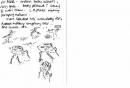53‐4201<b>redshank chicks</b>A5 sketchbook&#8208;Greg&nbsp;Poole
