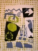 1‐5029<b>wheatear & lichens</b>monoprint78 x 60 cms£POA‐GregPoole