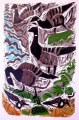 126‐4977<b>brent geese & turnstones</b>60 x 40 cms£190‐GregPoole