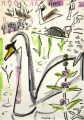 wax crayon <br /> A3 (42 x 29.7 cms) <br /> £70        ‐GregPoole